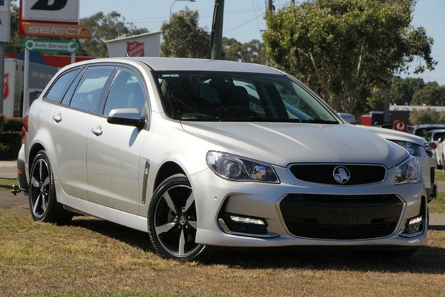 Used Holden Commodore VF II MY17 SV6 Sportwagon, 2017 Holden Commodore VF II MY17 SV6 Sportwagon Silver 6 Speed Sports Automatic Wagon