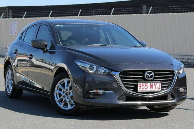 Used Mazda 3 BN5478 Maxx SKYACTIV-Drive, 2016 Mazda 3 BN5478 Maxx SKYACTIV-Drive Grey 6 Speed Sports Automatic Hatchback