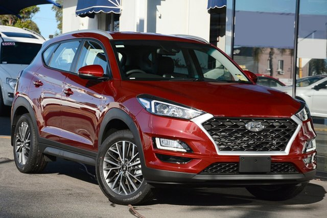 New Hyundai Tucson TL4 MY20 Active X 2WD, 2019 Hyundai Tucson TL4 MY20 Active X 2WD Gemstone Red 6 Speed Automatic Wagon