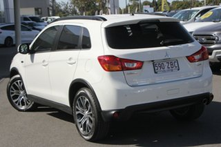 2015 Mitsubishi ASX XB MY15 LS White 6 Speed Sports Automatic Wagon.