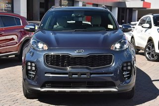 2018 Kia Sportage QL MY18 GT-Line AWD Blue 6 Speed Sports Automatic Wagon