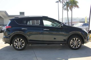 2017 Toyota RAV4 ASA44R Cruiser AWD Peacock Black 6 Speed Sports Automatic Wagon.