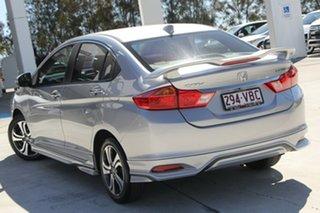 2014 Honda City GM MY14 VTi-L Silver 7 Speed Constant Variable Sedan.
