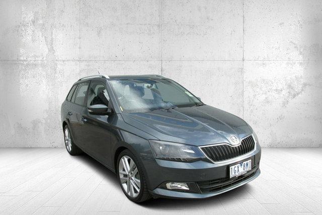 Used Skoda Fabia NJ MY16 81TSI DSG, 2016 Skoda Fabia NJ MY16 81TSI DSG Grey 7 Speed Sports Automatic Dual Clutch Wagon
