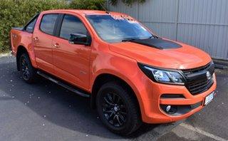 2018 Holden Colorado RG MY19 LTZ Pickup Crew Cab Orange Crush 6 Speed Sports Automatic Utility.