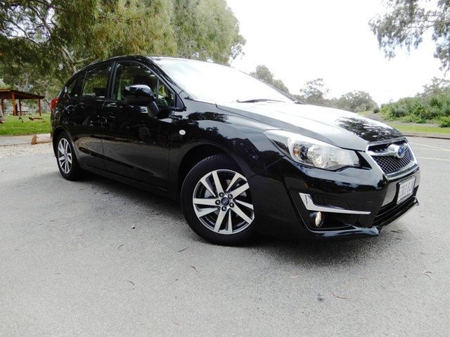 Used Subaru Impreza G4 MY16 2.0i Lineartronic AWD Premium, 2015 Subaru Impreza G4 MY16 2.0i Lineartronic AWD Premium Crystal Black 6 Speed Constant Variable
