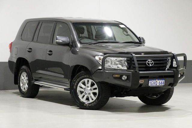 Used Toyota Landcruiser VDJ200R MY13 GXL (4x4), 2014 Toyota Landcruiser VDJ200R MY13 GXL (4x4) Graphite 6 Speed Automatic Wagon