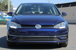 2017 Volkswagen Golf 7.5 MY17 110TSI DSG Comfortline Blue 7 Speed Sports Automatic Dual Clutch
