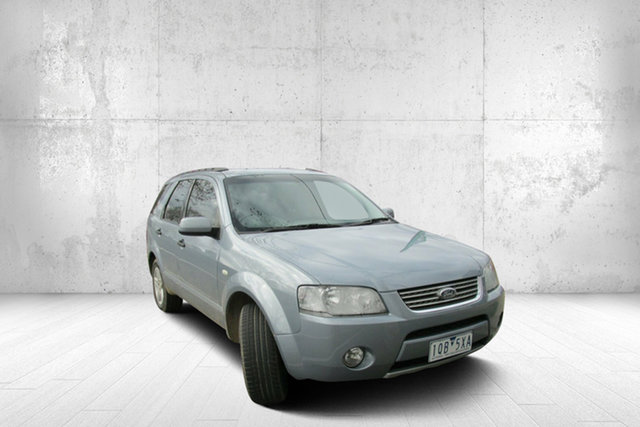 Used Ford Territory SY Ghia, 2007 Ford Territory SY Ghia Blue 4 Speed Sports Automatic Wagon