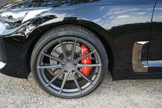 2019 Kia Stinger CK MY19 GT (blk LTH W Michelin Tyr) Aurora Black 8 Speed Automatic Sedan