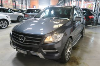 2012 Mercedes-Benz M-Class W166 ML250 BlueTEC 7G-TRONIC + Grey 7 Speed Sports Automatic Wagon