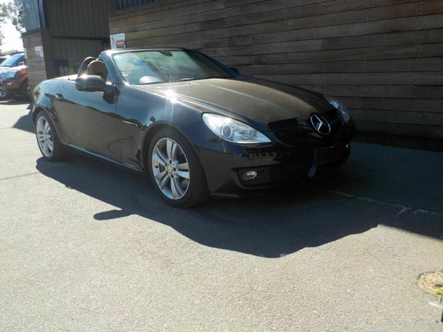 Used Mercedes-Benz SLK350 R171 MY08 , 2008 Mercedes-Benz SLK350 R171 MY08 Black 7 Speed Automatic Roadster