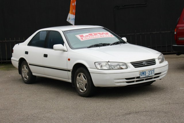 Used Toyota Camry SXV20R Conquest, 2000 Toyota Camry SXV20R Conquest White 4 Speed Automatic Sedan