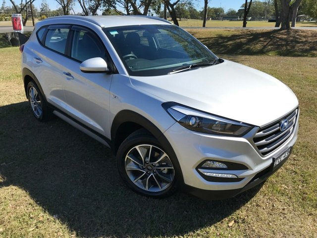 Used Hyundai Tucson TL MY18 Active X 2WD, 2018 Hyundai Tucson TL MY18 Active X 2WD Platinum Silver Metallic 6 Speed Sports Automatic Wagon