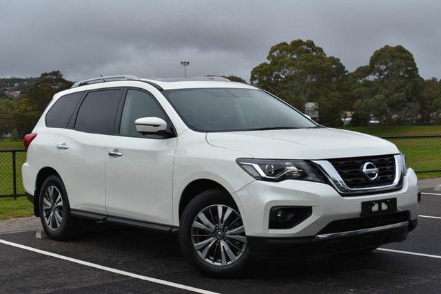 Used Nissan Pathfinder R52 Series II MY17 ST-L X-tronic 2WD, 2018 Nissan Pathfinder R52 Series II MY17 ST-L X-tronic 2WD White 1 Speed Constant Variable Wagon
