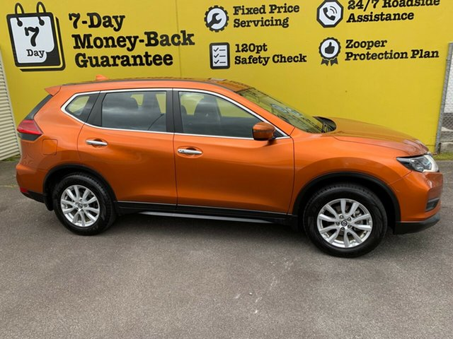 Used Nissan X-Trail T32 Series II ST X-tronic 4WD, 2017 Nissan X-Trail T32 Series II ST X-tronic 4WD Orange 7 Speed Constant Variable Wagon