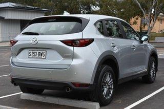 2018 Mazda CX-5 KF2W7A Maxx SKYACTIV-Drive FWD Sport Silver 6 Speed Sports Automatic Wagon.