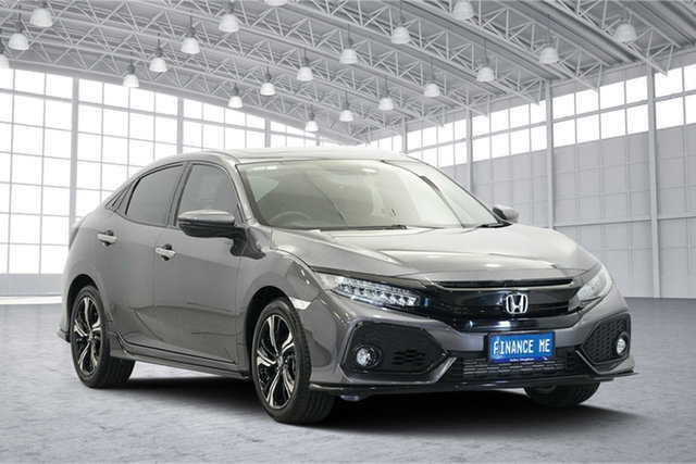 Used Honda Civic 10th Gen MY18 RS, 2019 Honda Civic 10th Gen MY18 RS Grey 1 Speed Constant Variable Hatchback