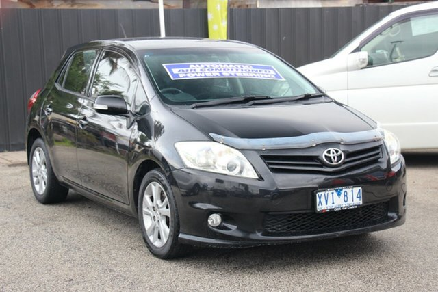 Used Toyota Corolla ZRE152R MY10 Ascent Sport, 2010 Toyota Corolla ZRE152R MY10 Ascent Sport Black 4 Speed Automatic Hatchback