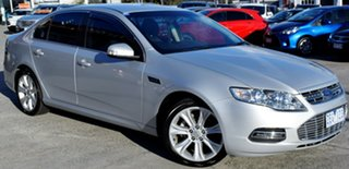 2012 Ford Falcon FG MkII G6E EcoBoost Silver 6 Speed Sports Automatic Sedan.