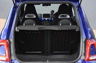 2019 Abarth 595 Series 4 Competizione Dualogic Podium Blue 5 Speed Sports Automatic Single Clutch