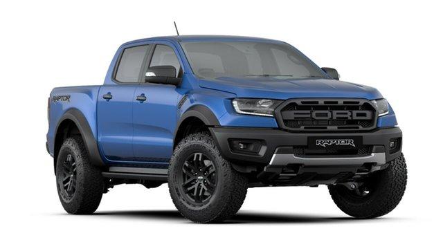 New Ford Ranger PX MkIII 2019.00MY Raptor Pick-up Double Cab, 2019 Ford Ranger PX MkIII 2019.00MY Raptor Pick-up Double Cab Blue Lightning 10 Speed