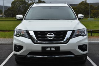 2018 Nissan Pathfinder R52 Series II MY17 ST-L X-tronic 2WD White 1 Speed Constant Variable Wagon
