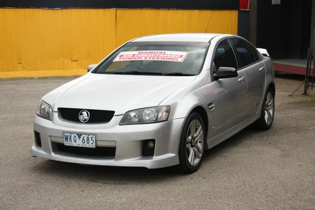 Used Holden Commodore VE SS, 2008 Holden Commodore VE SS Silver 6 Speed Manual Sedan