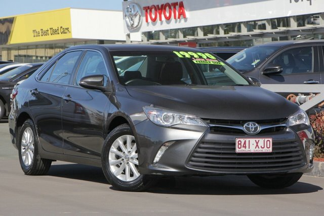 Used Toyota Camry ASV50R Altise, 2017 Toyota Camry ASV50R Altise Graphite 6 Speed Sports Automatic Sedan