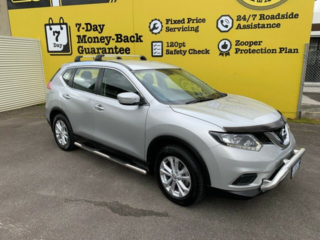 Used Nissan X-Trail T32 ST X-tronic 4WD, 2014 Nissan X-Trail T32 ST X-tronic 4WD Brilliant Silver 7 Speed Constant Variable Wagon