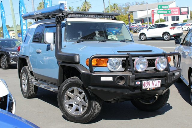 Used Toyota FJ Cruiser GSJ15R MY14 , 2014 Toyota FJ Cruiser GSJ15R MY14 Blue 5 Speed Automatic Wagon