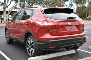2016 Nissan Qashqai J11 TI Red 1 Speed Constant Variable Wagon