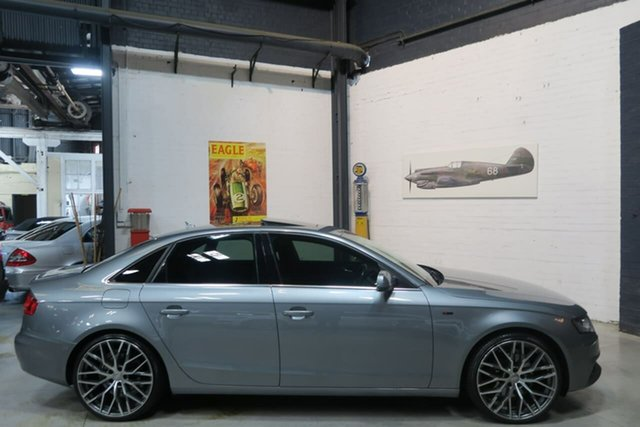 Used Audi A4 B8 8K MY11 S Tronic Quattro, 2010 Audi A4 B8 8K MY11 S Tronic Quattro Grey 7 Speed Sports Automatic Dual Clutch Sedan