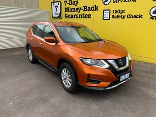 2017 Nissan X-Trail T32 Series II ST X-tronic 4WD Orange 7 Speed Constant Variable Wagon.