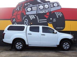 2015 Isuzu D-MAX MY15 LS-M Crew Cab Splash White 5 Speed Sports Automatic Utility.
