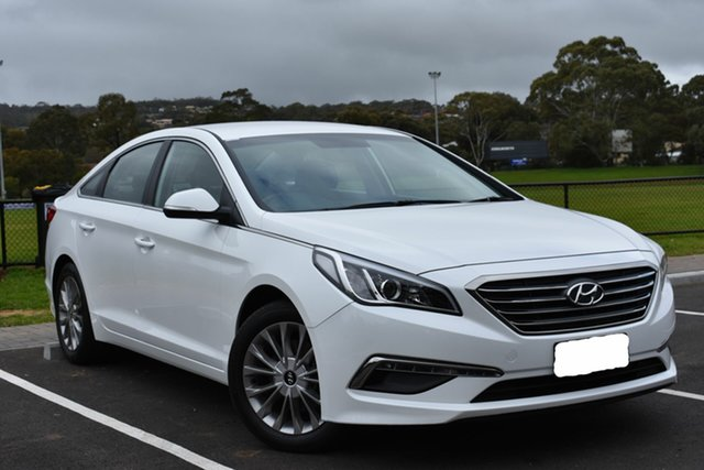 Used Hyundai Sonata LF3 MY17 Active, 2017 Hyundai Sonata LF3 MY17 Active White 6 Speed Sports Automatic Sedan