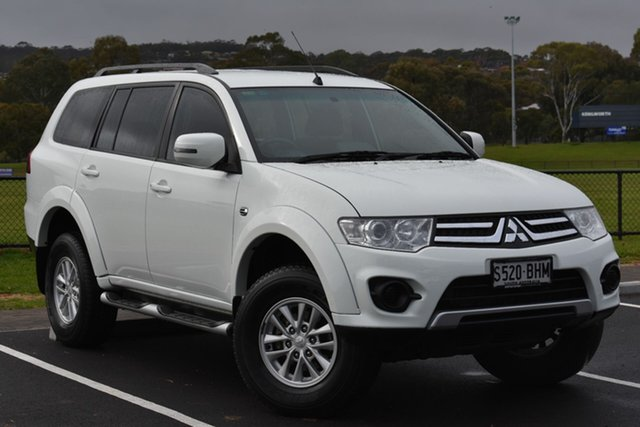 Used Mitsubishi Challenger PC (KH) MY14 , 2015 Mitsubishi Challenger PC (KH) MY14 White 5 Speed Sports Automatic Wagon