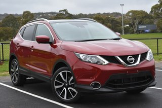 2016 Nissan Qashqai J11 TI Red 1 Speed Constant Variable Wagon.