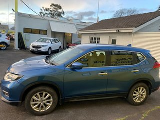 2017 Nissan X-Trail T32 Series II ST X-tronic 4WD Blue 7 Speed Constant Variable Wagon