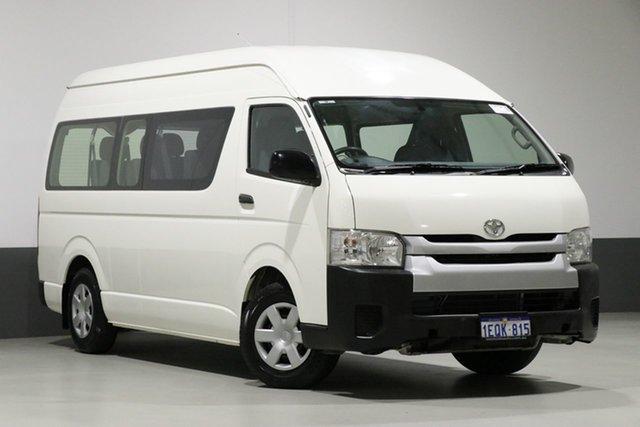 Used Toyota HiAce TRH223R MY14 Commuter, 2015 Toyota HiAce TRH223R MY14 Commuter White 4 Speed Automatic Bus