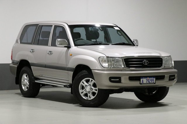 Used Toyota Landcruiser HDJ100R GXL (4x4), 2001 Toyota Landcruiser HDJ100R GXL (4x4) Silver 5 Speed Manual 4x4 Wagon