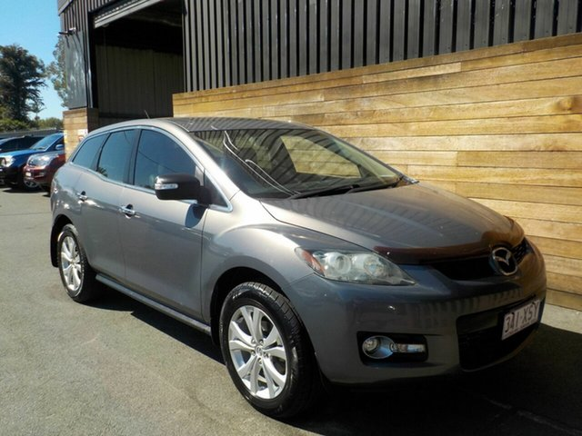 Used Mazda CX-7 ER1031 MY07 Luxury, 2007 Mazda CX-7 ER1031 MY07 Luxury Grey 6 Speed Sports Automatic Wagon