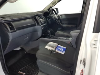 2015 Ford Ranger PX MkII XLS Double Cab White 6 Speed Sports Automatic Utility