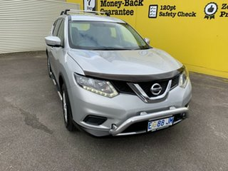 2014 Nissan X-Trail T32 ST X-tronic 4WD Brilliant Silver 7 Speed Constant Variable Wagon.