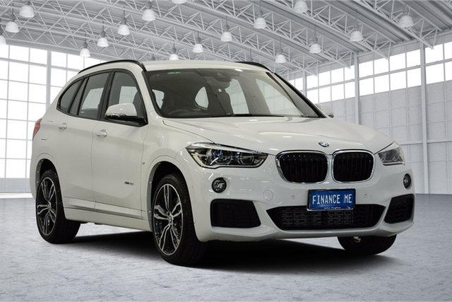 Used BMW X1 F48 xDrive25i Steptronic AWD, 2017 BMW X1 F48 xDrive25i Steptronic AWD Alpine White 8 Speed Sports Automatic Wagon