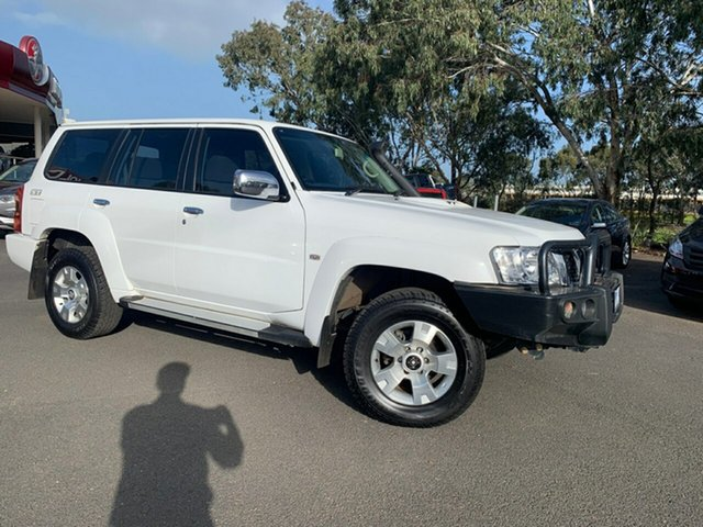 Used Nissan Patrol Y61 GU 9 ST, 2015 Nissan Patrol Y61 GU 9 ST White 5 Speed Manual Wagon