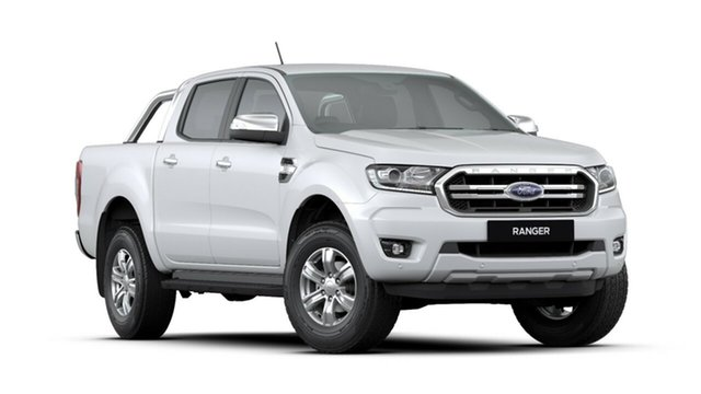 New Ford Ranger PX MkIII 2019.00MY XLT Pick-up Double Cab 4x2 Hi-Rider, 2019 Ford Ranger PX MkIII 2019.00MY XLT Pick-up Double Cab 4x2 Hi-Rider Arctic White 6 Speed