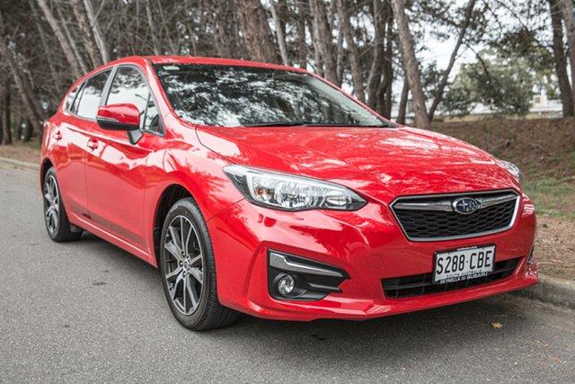 Demo Subaru Impreza G5 MY19 2.0i-L CVT AWD, 2018 Subaru Impreza G5 MY19 2.0i-L CVT AWD Pure Red 7 Speed Constant Variable Hatchback