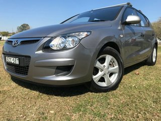2011 Hyundai i30 FD MY11 SX Grey 4 Speed Automatic Hatchback.