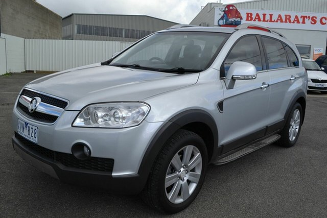 Used Holden Captiva CG MY10 LX (4x4), 2010 Holden Captiva CG MY10 LX (4x4) Silver 5 Speed Automatic Wagon